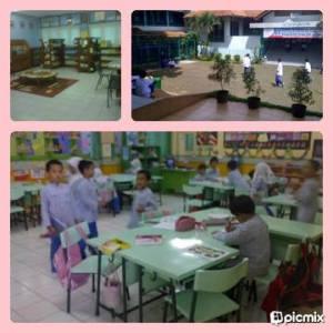 suasana ruang kelas & perpustakaan