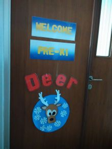 the deer, nama kelas pre-k