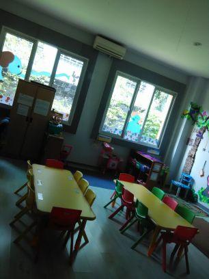 ngintip ruang kelas TK