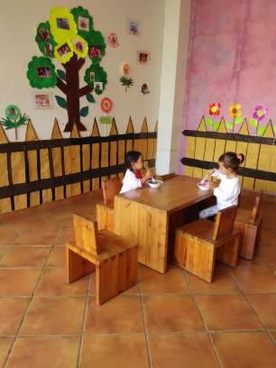 ruang makan yg cozy