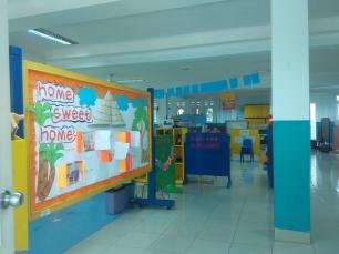 ruang kelas TK, luas & di sekat sekat